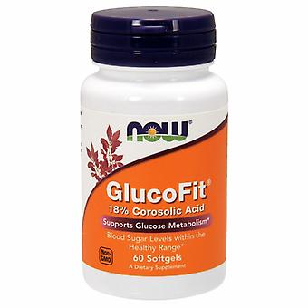 Now Foods GlucoFit, 60 Sgels