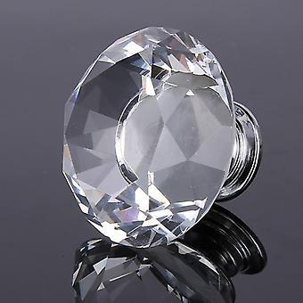 Diamant Tür Knöpfe - KristallGlas Schrank Schublade / Pull Küchenschrank / Tür