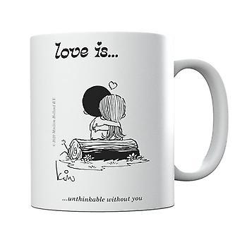 Kærlighed er utænkeligt uden dig Mug