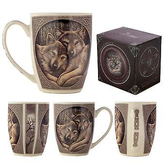 Wolves Loyal Companion Lisa Parker Designed Porcelain Mug