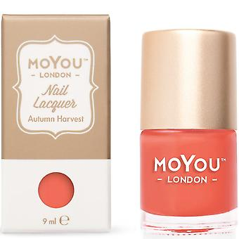 MoYou London Stamping Nail Laque - Récolte d'automne 9ml (mn075)
