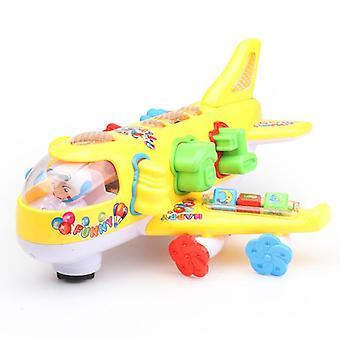 Luz y música efecto-avión / autobús juguete