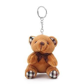 Porte-clés en peluche de jouet d'ours