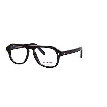 Cutler and Gross 0822V3 B Black Glasses