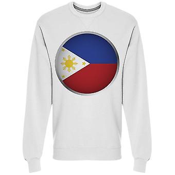 جولة العلم الفلبينية Sweatshirt الرجال & apos;s -الصورة من قبل Shutterstock