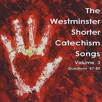 Holly Dutton - Holly Dutton: Vol. 3-Westminster kortere catechismus liedjes [CD] USA import