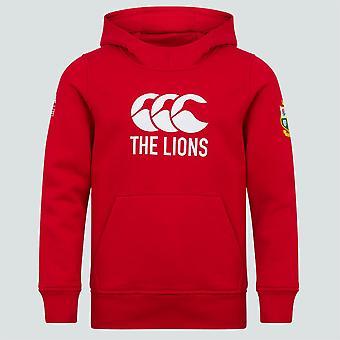 Canterbury British & Irish Lions Rugby Logo Hoodie | Junior | 2021