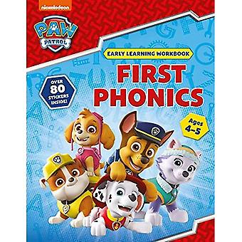 Primeiro Fônico (Idades 4 a 5 anos; PAW Patrol Early Learning Sticker Workbook)