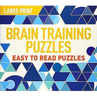 Large Print Brain Training Puzzles (Landscape puzzles)