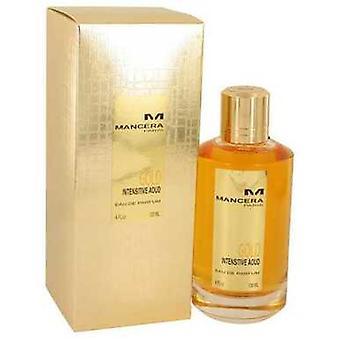 Mancera Intensitive Aoud Gold De Mancera Eau De Parfum Spray (unisex) 4 Oz (mujeres) V728-536915