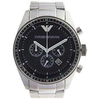 Armani Classic Stainless Steel Mens Chronograph Watch Ar0585