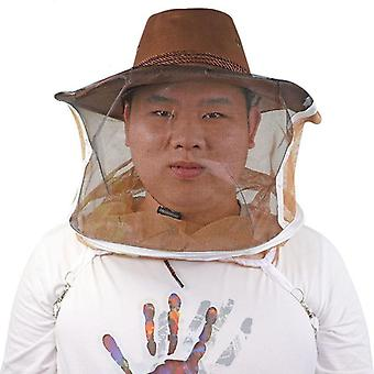 Beekeeping Cowboy Hat - Beekeeping Protector Comfortable Design Anti Bee Hat