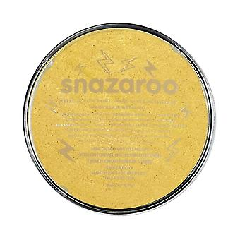 Snazaroo face and body paint, 18 ml - metallic gold ( individual colour) metallic 18ml
