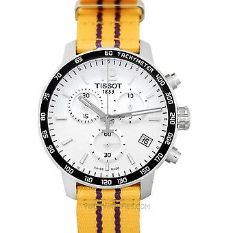Tissot T095.417.17.037.05 Quickster Chronograph NBA Los Angeles Lakers Men's Watch