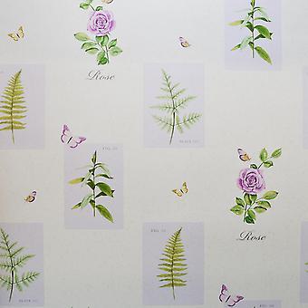 Galerie Botanical Rose Purple
