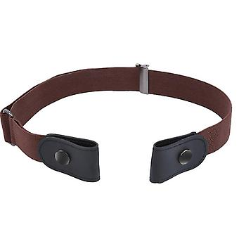 Buckle Stretch Elastic Waist Belt/men, No Bulge, No Hassle Waist Belt