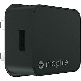 Mophie 18W USB-A מטען מהיר בבריטניה 3 פינים עיקריות מטען קיר עבור התקני USB - 5V