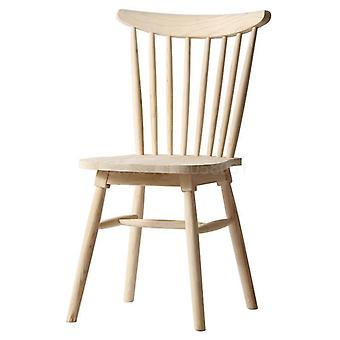 Solid Wood Dining Chair Table, Windsor Restaurant Backrest Chair