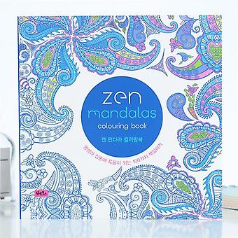 Mandalas Flower Coloring Book