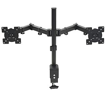 """Monitor table holder 32"""" Double arm height adjustable"""