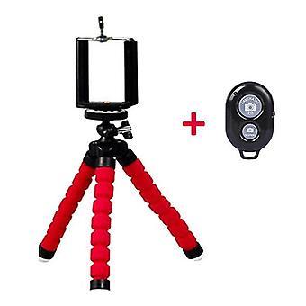 Mini Tripod With Bluetooth Remote Shutter For Camera Tripod Phone Holder Clip