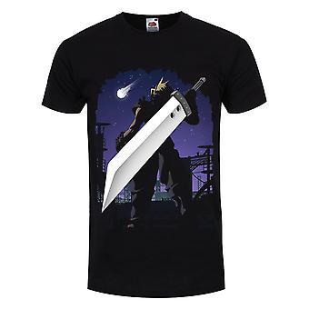 Grindstore Menns Sky Silhuett T-skjorte