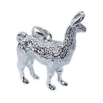 Ciondolo in argento sterling lama .925 X 1 Lamas & Alpaca Pendenti - 8564