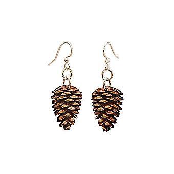 Pine Cone Earrings #1622