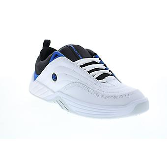 DC Williams Slim  Mens White Skate Inspired Sneakers Shoes