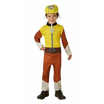 Paw Patrol Rubble Childrens Toddler Costume