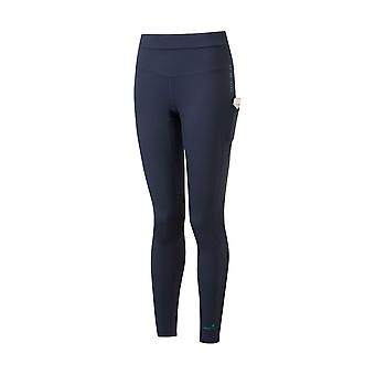 Ronhill Tech Revive Stretchy & Breathable Running Tights Deep Navy/spa Green