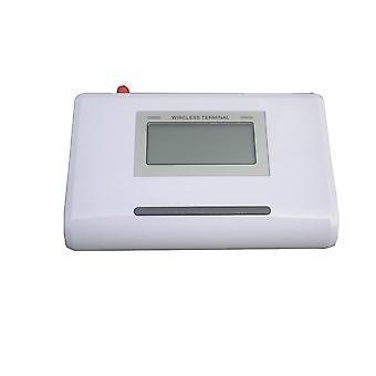 Gsm fijo terminal inalámbrico con pantalla lcd, sistema de alarma de soporte
