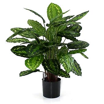 Kunstig Calathea Rosea Picta 80cm