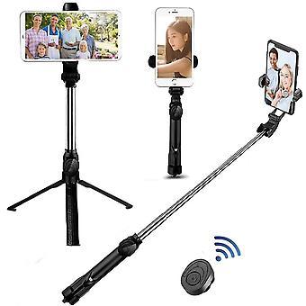 Wireless Bluetooth Selfie Stick Tripod Remote Palo Live Photo Holder Tripod