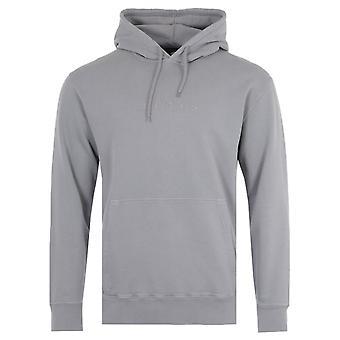 Edwin Katakana Hooded Sweatshirt - Frost Grey