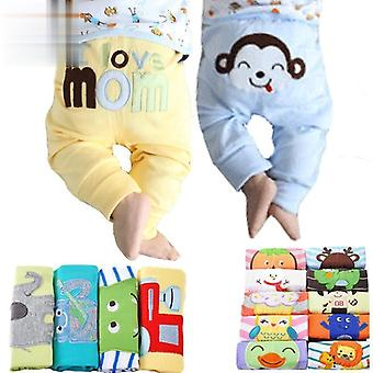 5pcs/pack 0-2years Pp Pants Trousers Baby Infant Cartoon For Clothing
