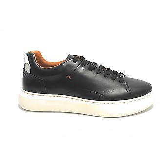 حذاء الرجال الطموح 10443a أحذية رياضية سوداء / أبيض US21am09
