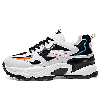 Round Head Color Matching Sport Shoes For Men