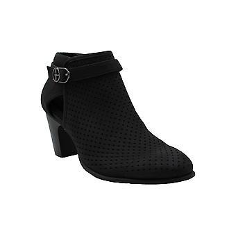 Giani Bernini Womens CEMELIAA Faux Fur Closed Toe Ankle Fashion Boots