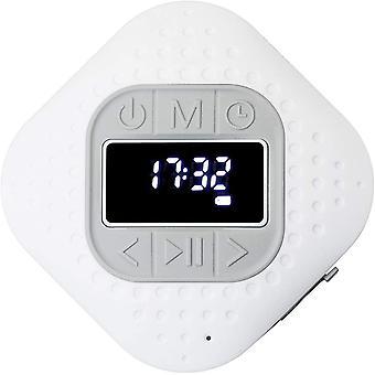 Wokex BAR-013 Bluetooth V.5 Duschradio - IPX4 Bluetooth Lautsprecher - Freisprechfunktion - Saugnapf