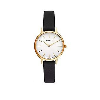 LLARSEN Analogueic Watch Quartz Woman with Leather Strap 146GWG3-GCOAL12