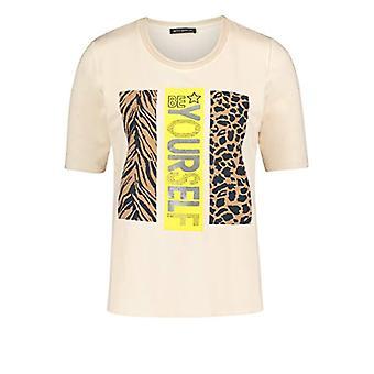 Betty Barclay 2752/2107 T-Shirt, Cream/Yellow, 46 Woman