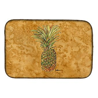 Caroline'S Treasures Pineapple Dish Drying Mat, 14 X 21, Multicolor