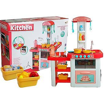 Cucina per bambini con spesa e rubinetto funzionante