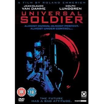 DVD-skiva med universell soldat
