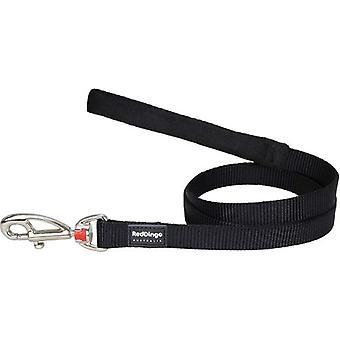 赤いディンゴ リサ ブラック ベルト (犬、首輪、リード、ハーネス、リード)