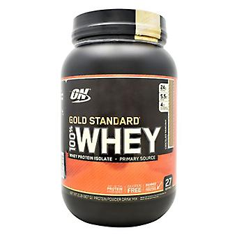 Optimum Nutrition Gold Standard 100% Whey, Chocolate Hazelnut 2 lbs