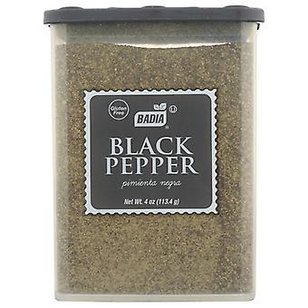 Badia Pepper Black Grnd, caso di 12 X 4 Oz