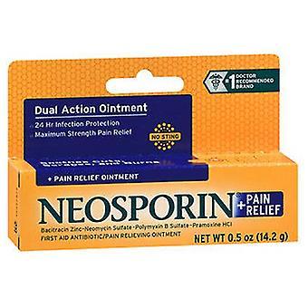 Neosporin Neosporin Plus Pain Relief Antibiotic Ointment Maximum Strength, 0.5 oz