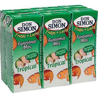 Melkedrikk Don Simon Tropical (6 x 200 ml)